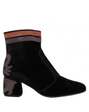 Полусапоги и высокие ботинки MALÌPARMI. Цвет: черный