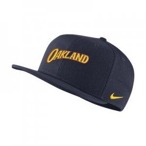 Бейсболка НБА Pro Golden State Warriors City Edition - Синий Nike