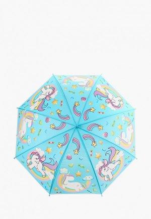 Зонт-трость Bradex. Цвет: голубой