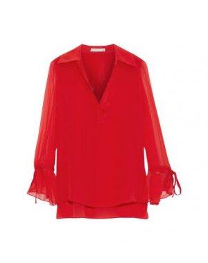 Блузка ALICE + OLIVIA. Цвет: красный