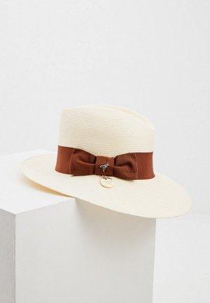 Шляпа Patrizia Pepe. Цвет: белый