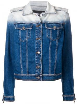 Джинсовая куртка в двух тонах Just Cavalli