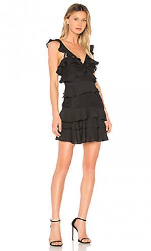 Мини платье babylon Bardot. Цвет: черный