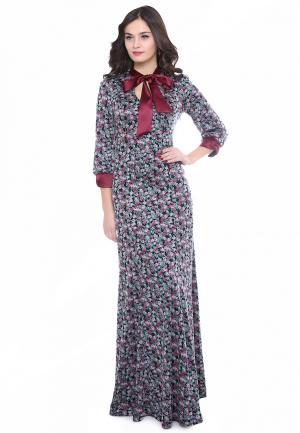Платье Olivegrey MALFOYA. Цвет: разноцветный