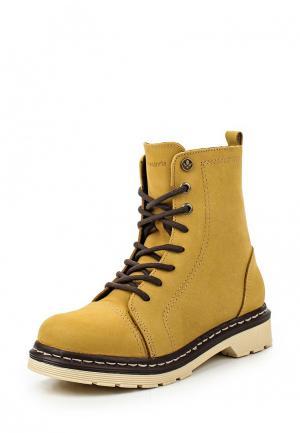 Ботинки Cravo & Canela. Цвет: горчичный