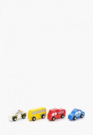 Коврик детский Shahintex. Цвет: разноцветный