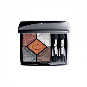 Пятицветные тени для век show 5 Couleurs, 087 Вулканический Dior. Цвет: бесцветный