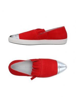 Низкие кеды и кроссовки MANILA GRACE. Цвет: красный