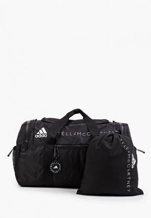 Сумка спортивная adidas by Stella McCartney ASMC DUFFEL BAG. Цвет: черный