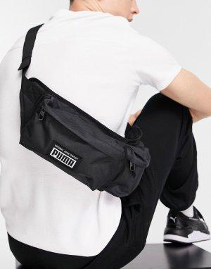 Черная сумка-кошелек на пояс с логотипом PUMA Mirage-Черный цвет