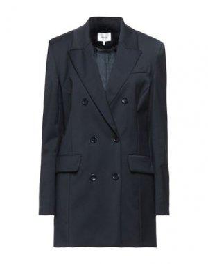 Пиджак GESTUZ. Цвет: темно-синий