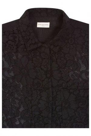 Рубашка Dries Van Noten. Цвет: черный
