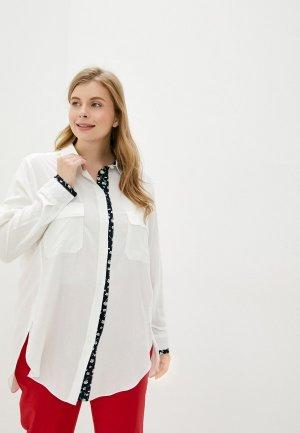 Блуза Berkline. Цвет: белый