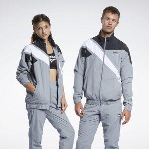 Спортивная куртка Classics Vector Reebok. Цвет: pure grey 5