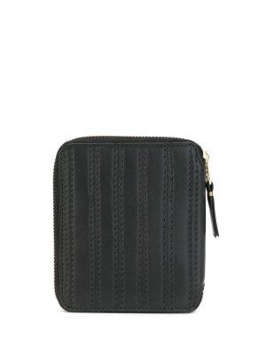 COMME DES GARÇONS HOMME PLUS SA2100ES BLACK Furs & Skins->Calf Leather Wallet. Цвет: черный
