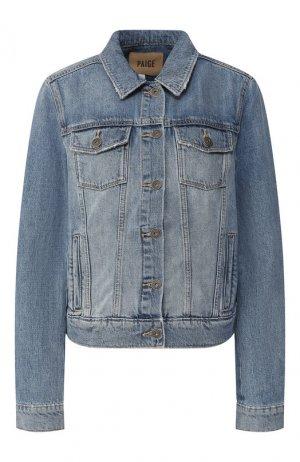 Джинсовая куртка Paige. Цвет: голубой