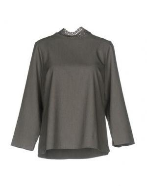 Блузка GUSTAV. Цвет: серый