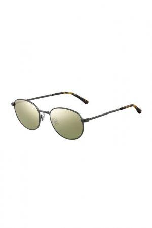 Солнцезащитные очки Jimmy Choo. Цвет: серебристый