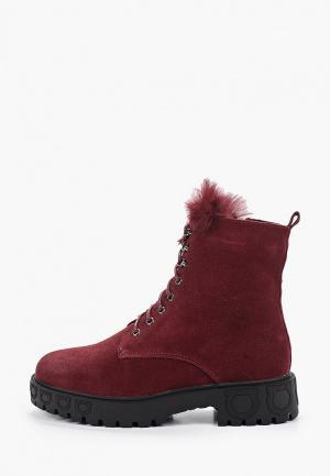 Ботинки Baden. Цвет: бордовый