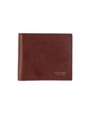 Бумажник BELSTAFF. Цвет: коричневый