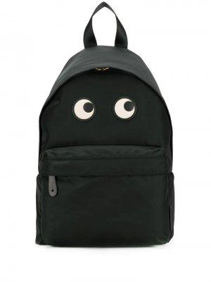 Рюкзак с принтом Anya Hindmarch. Цвет: черный