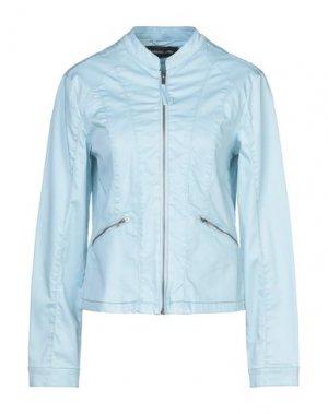 Куртка BARBARA LEBEK. Цвет: небесно-голубой