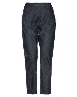 Джинсовые брюки COMPAGNIA ITALIANA. Цвет: синий