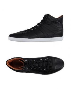 Высокие кеды и кроссовки JIM RICKEY. Цвет: черный