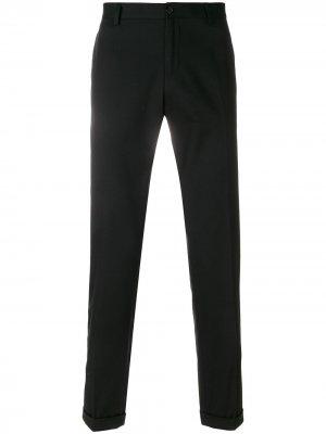 Классические брюки-чинос Dolce & Gabbana. Цвет: черный