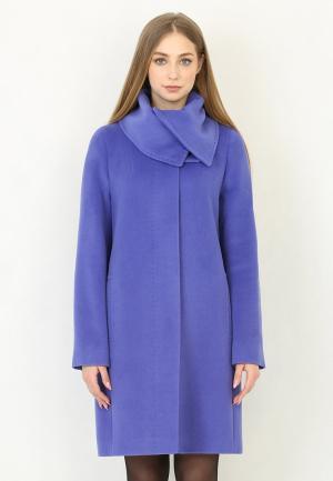 Пальто Trifo. Цвет: синий