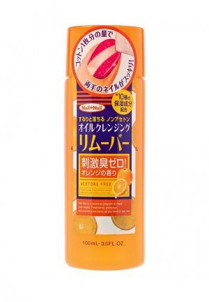 Средство для снятия лака BCL с апельсиновым маслом (без ацетона), 100 мл. Цвет: прозрачный