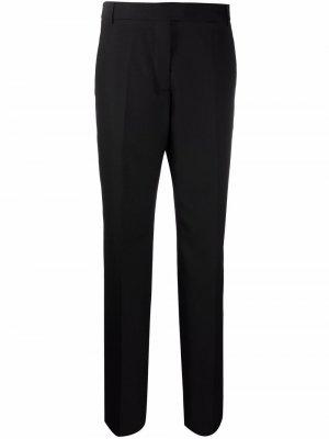 Прямые брюки с завышенной талией Acne Studios. Цвет: черный