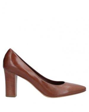 Туфли ALLUMINIO. Цвет: коричневый