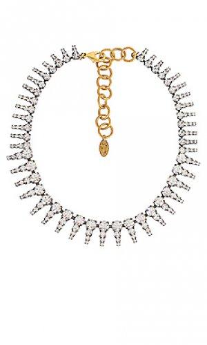 Ожерелье drew Elizabeth Cole. Цвет: металлический серебряный