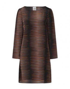 Короткое платье ATTIC AND BARN. Цвет: оранжевый