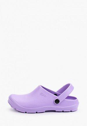 Сабо Ayo. Цвет: фиолетовый