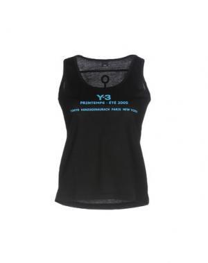 Майка Y-3. Цвет: черный