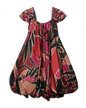 Короткое платье BABYLON. Цвет: пурпурный