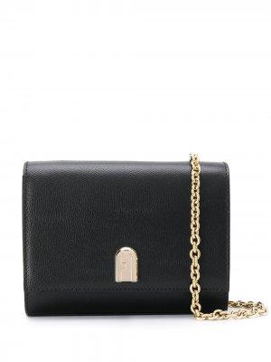 Мини-сумка через плечо 1927-го года Furla. Цвет: черный