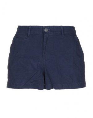 Повседневные шорты GAP. Цвет: темно-синий