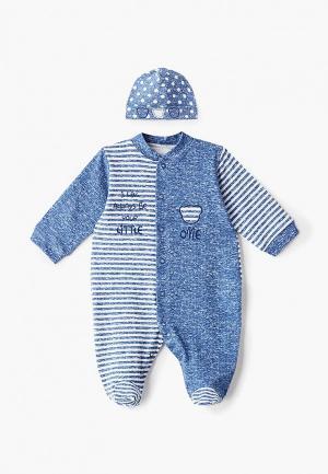 Комплект Fim Baby. Цвет: синий