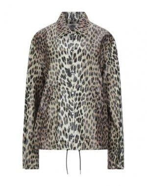 Куртка CELINE. Цвет: хаки