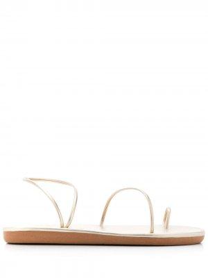 Сандалии Kansiz Ancient Greek Sandals. Цвет: золотистый