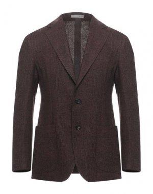 Пиджак 0909 FATTO IN ITALIA. Цвет: ржаво-коричневый