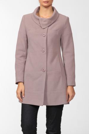 Пальто Exclusive. Цвет: какао