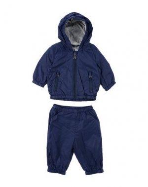 Спортивный костюм ADD. Цвет: темно-синий