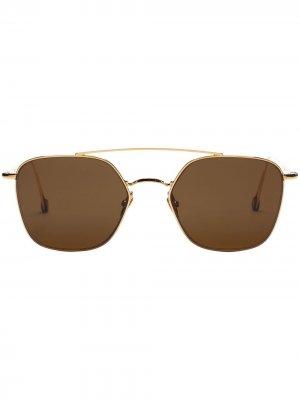 Солнцезащитные очки Place de la Concorde Ahlem. Цвет: коричневый
