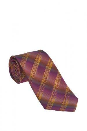 Галстук Basile. Цвет: коричневый, фиолетовый, светло