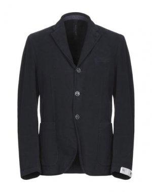 Пиджак MANUEL RITZ WHITE. Цвет: темно-синий