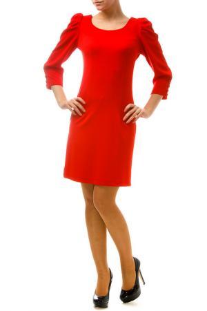 Платье Fervente. Цвет: красный